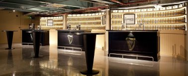 Bar in the Guinness Storehouse