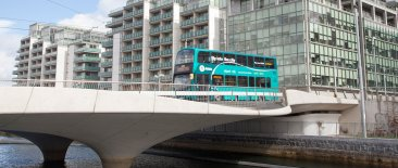 Airlink Express Bus in Docklands