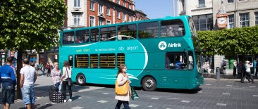 Airlink Express Bus on O'Connell Street
