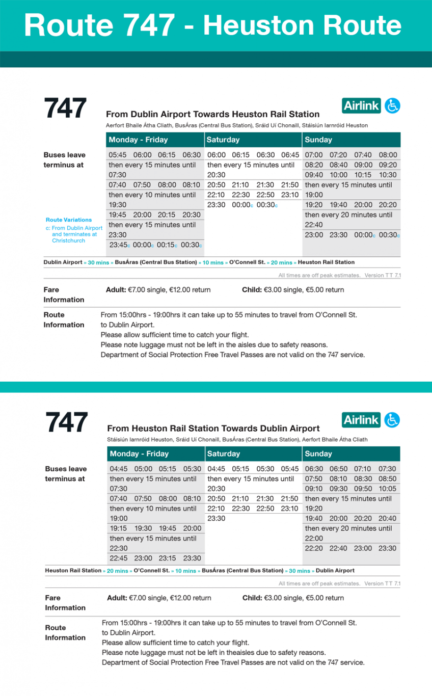 747 timetable