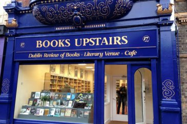 Books Upstairs shopfront