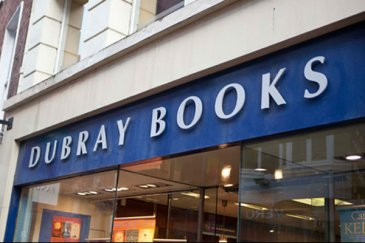 Dubray Books Shopfront