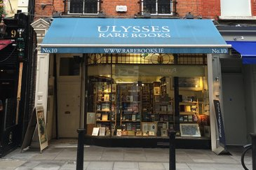 Ulysses Rare Books Store front