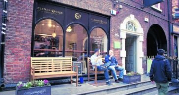 Coffee-Dublin clement and pekoe