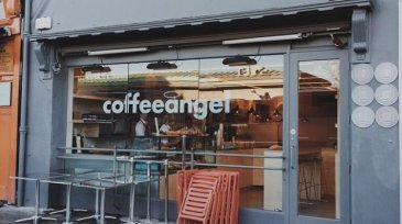 coffee angel exterior