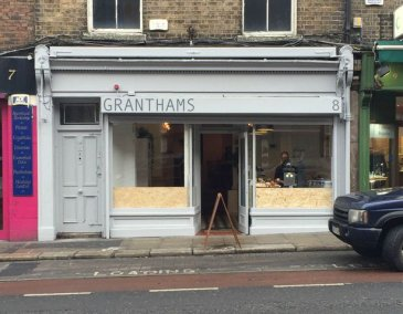 granthams cafe exterior