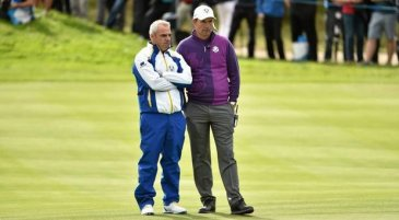 Pádraig Harrington and Paul McGinley