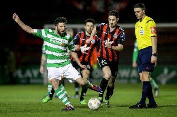 Bohemians and Shamrock Rovers