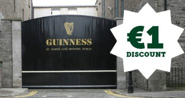 Guinness Storehouse €1 discount