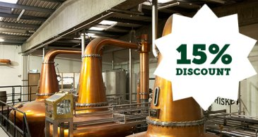 Teelings Whiskey Distillery discount 15% discount