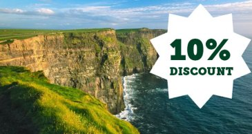 cliffs of moher offer 10% discount