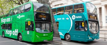 airlink and hop on hop off buses