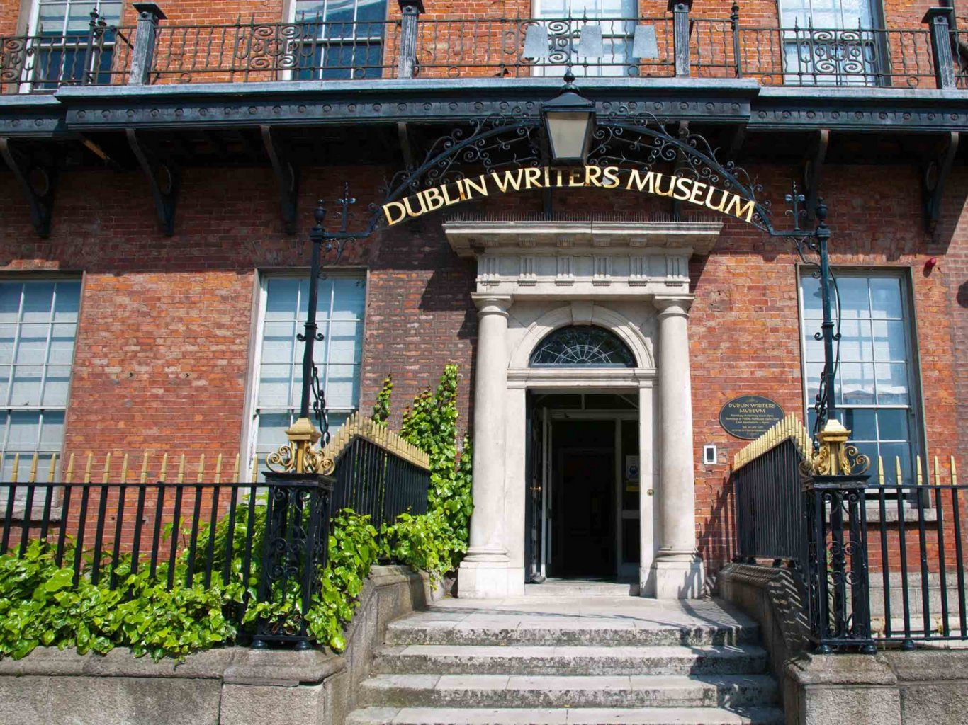 Front Entrance and Steps of Dublin Writers Museum