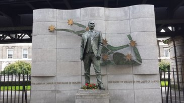james connolly statue