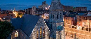 pearse lyons distillery at night