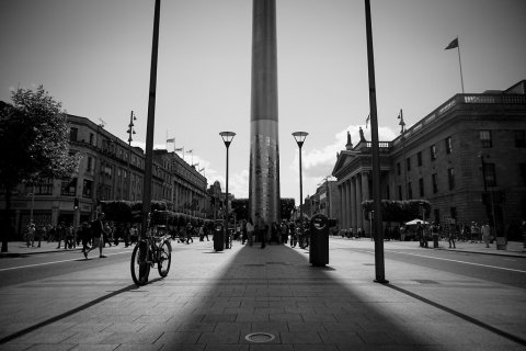 O'Connell Street and Spire
