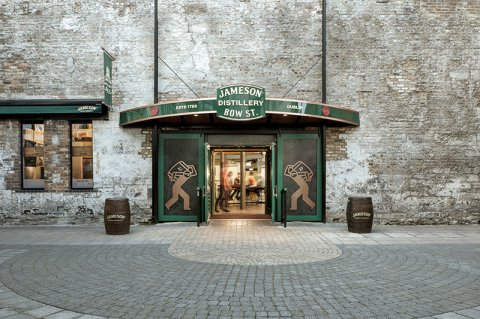 Front Entrance of Jameson Distillery Bow Street