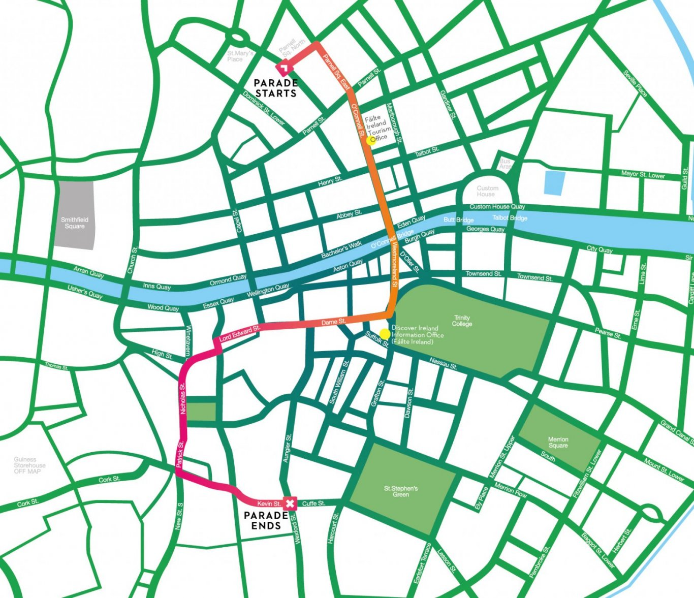 st-patricks-day-parade-route-dublin-city