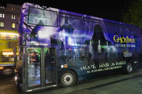the famous dublin ghostbus