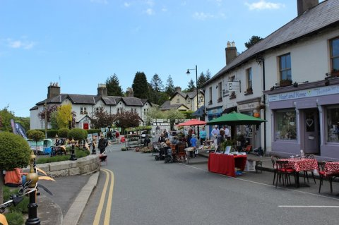 View of Enniskerry village
