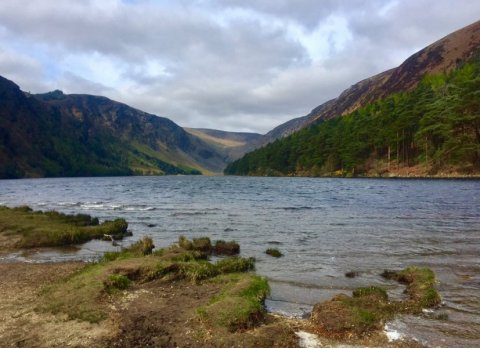 Glendalough Upper Lake and Valley