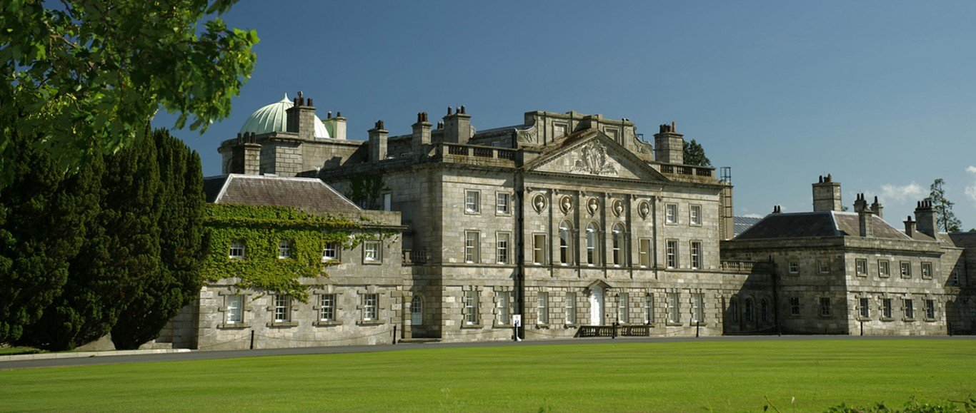 Front view of Powerscourt House