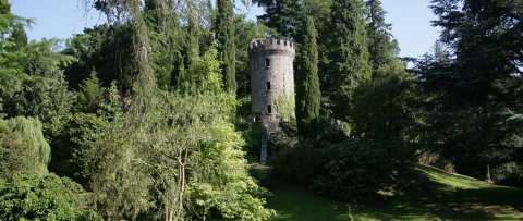 Pepperpot tower in Powerscourt Estate