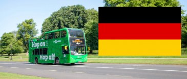 DoDublin Hop On Hop Off Tour in Phoenix Park with German Flag insert