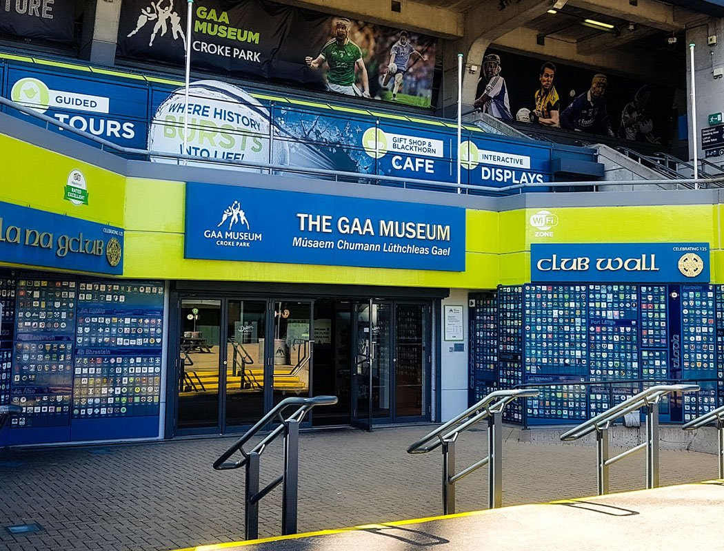 Entrance to GAA Museum at Croke Park
