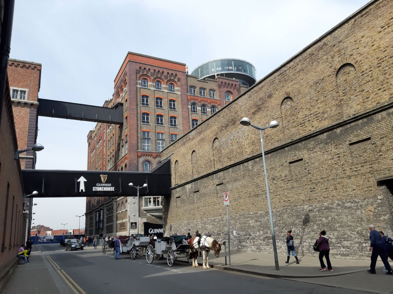 Image of outside of Guinness Storehouse