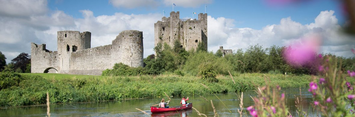 IMage of trim castle with boat