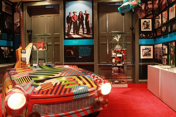 U2 Exhibition in Little Museum