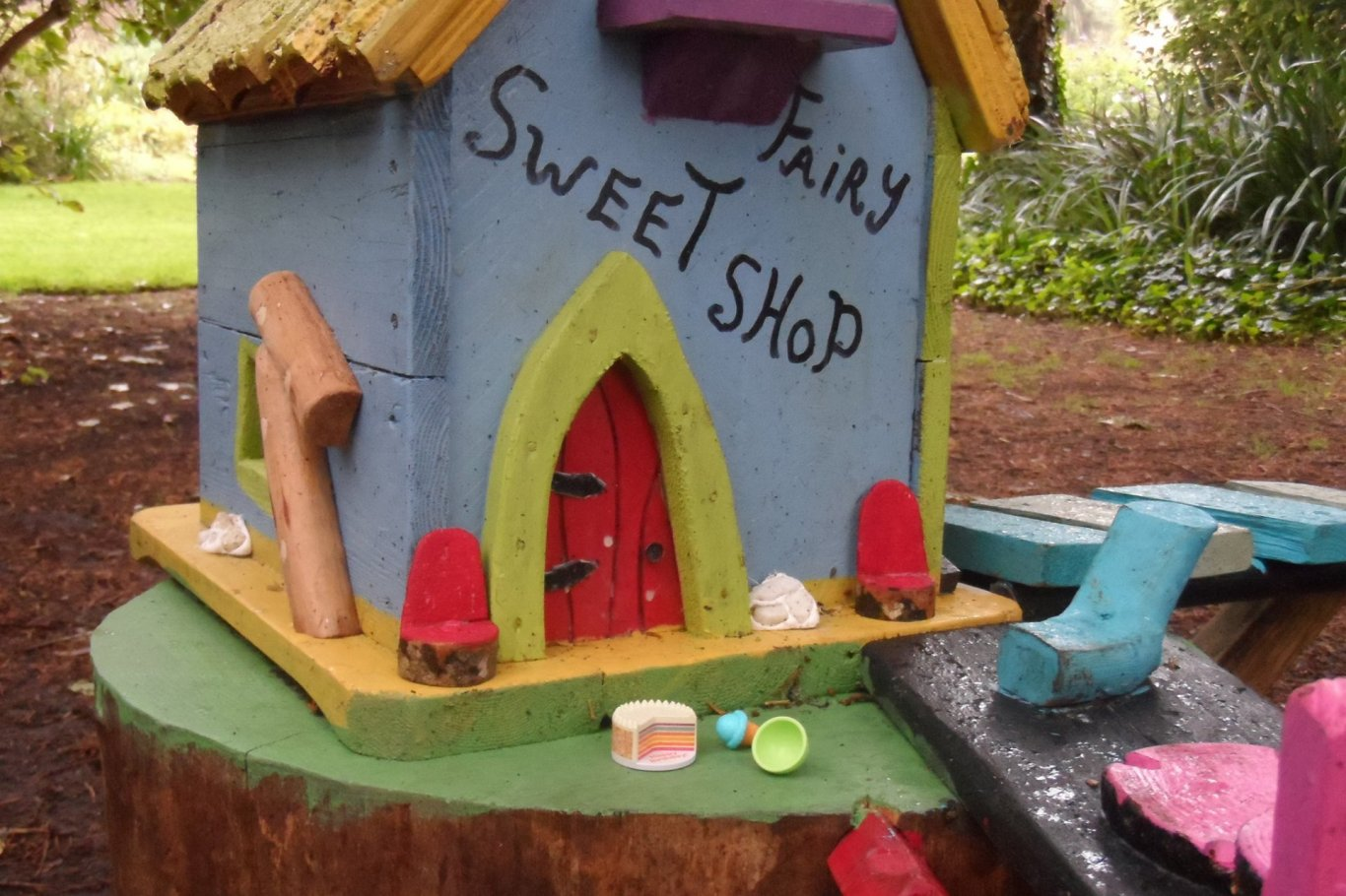 Sweet Shop on Fairy Trail at Malahide Gardens
