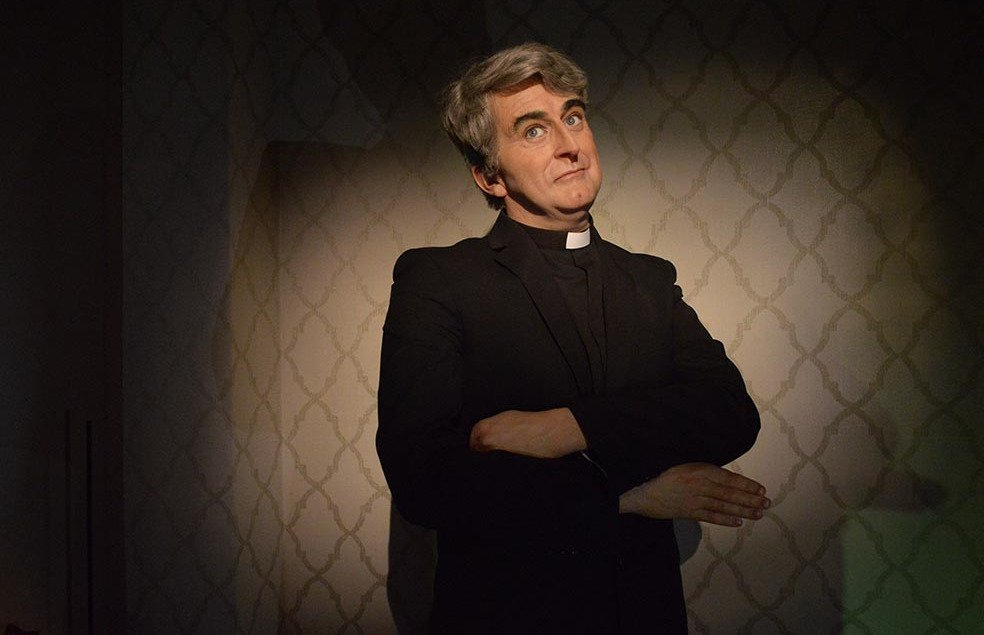 Father Ted Wax Figure at The National Wax Museum Dublin