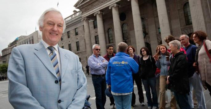 Pat Liddy Walking Tour at GPO O'Connell Street