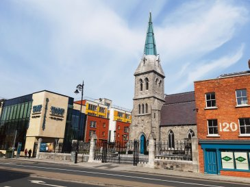 View of Pearse Lyons distillery