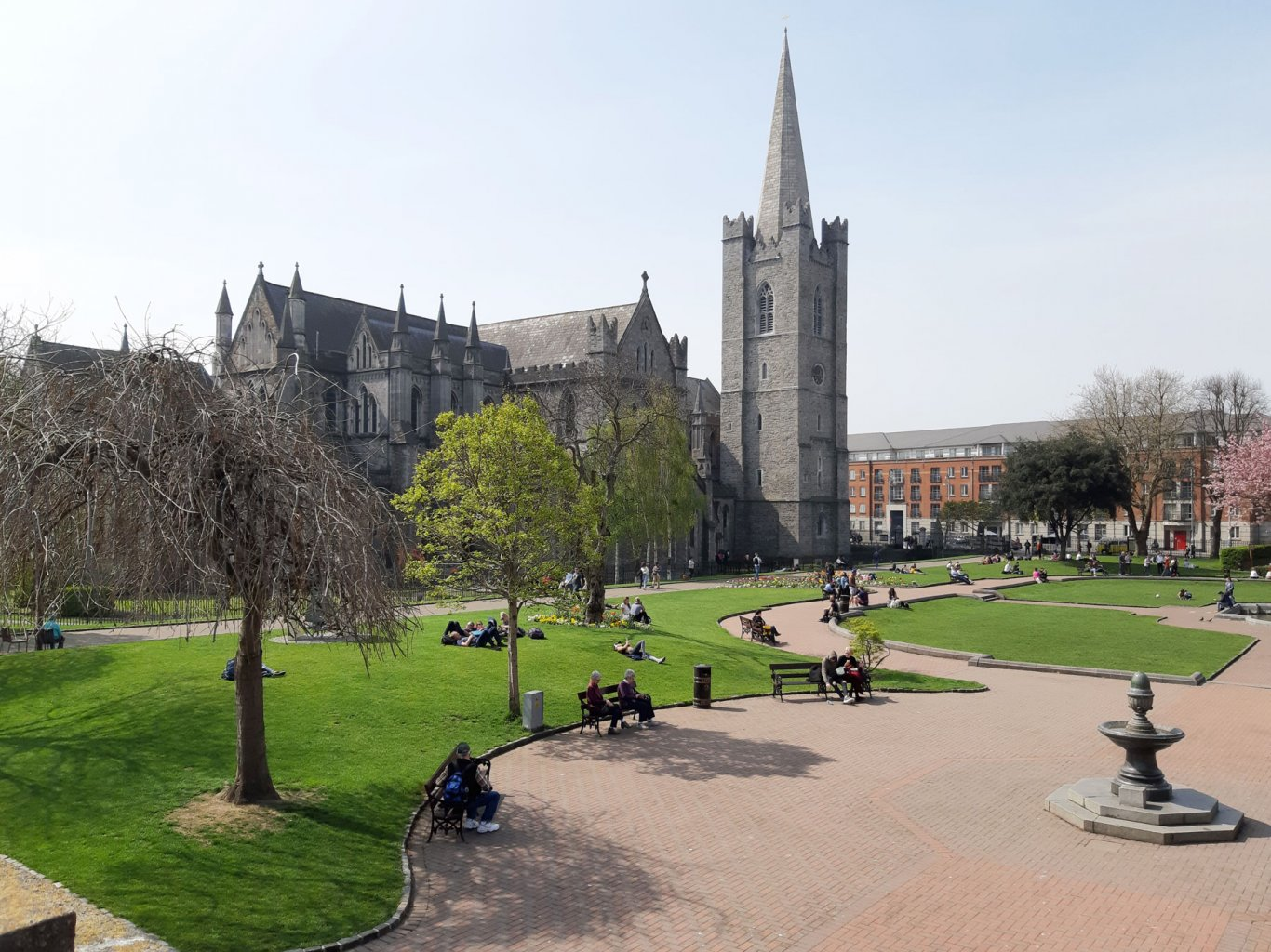 st patricks Cathedral gardens