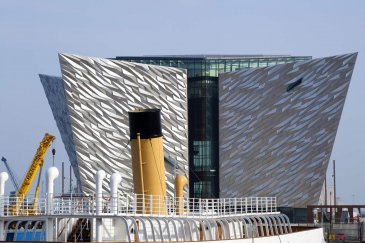 Exterior of Titanic Exhibition and Visitor Centre Belfast