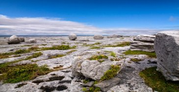 large rocks at the burren in county clare
