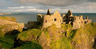 image of dunluce castle northern ireland