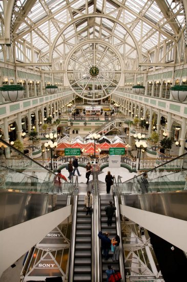 image of shopping centre in dublin