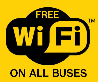 Free WIFI on Dublin Buses