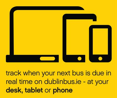 Dublin Bus Information, track whe your next bus is due in real time on dublinbus.ie - at your, desk, tablet or phone