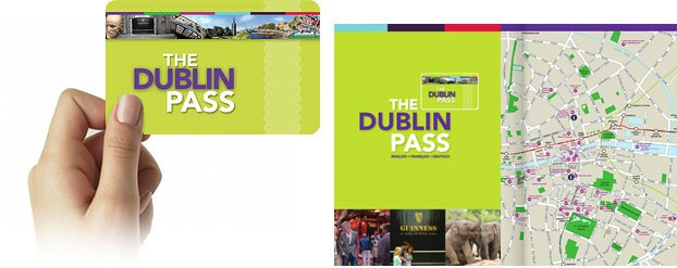 Dublin Pass Ticket and Guidebook
