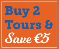 Buy 2 tours Save €5