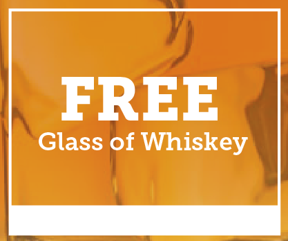 Free Glass of Whiskey